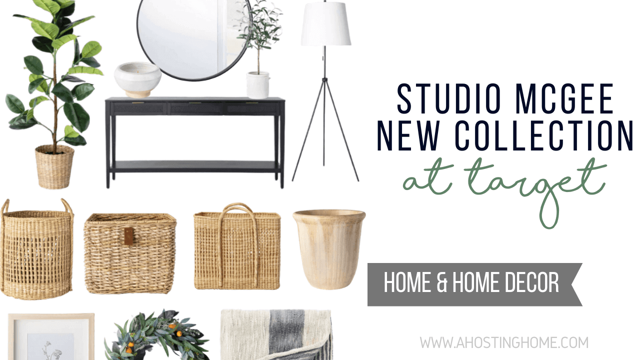 The New Studio McGee Collection at Target / A Hosting Home Blog
