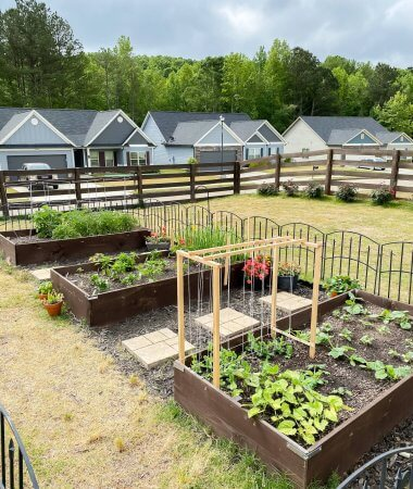 Planting Our Spring and Summer Garden / A Hosting Home Blog