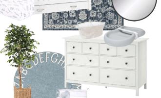 Neutral Baby Boy Nursery Design Inspiration / A Hosting Home Blog