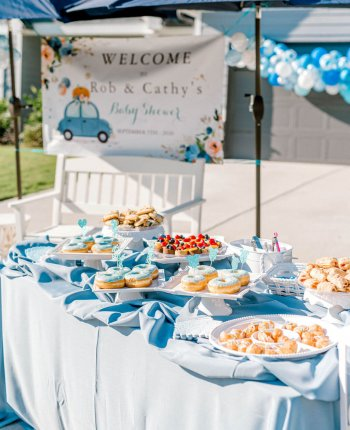 Our Drive By Baby Shower / A Hosting Home Blog