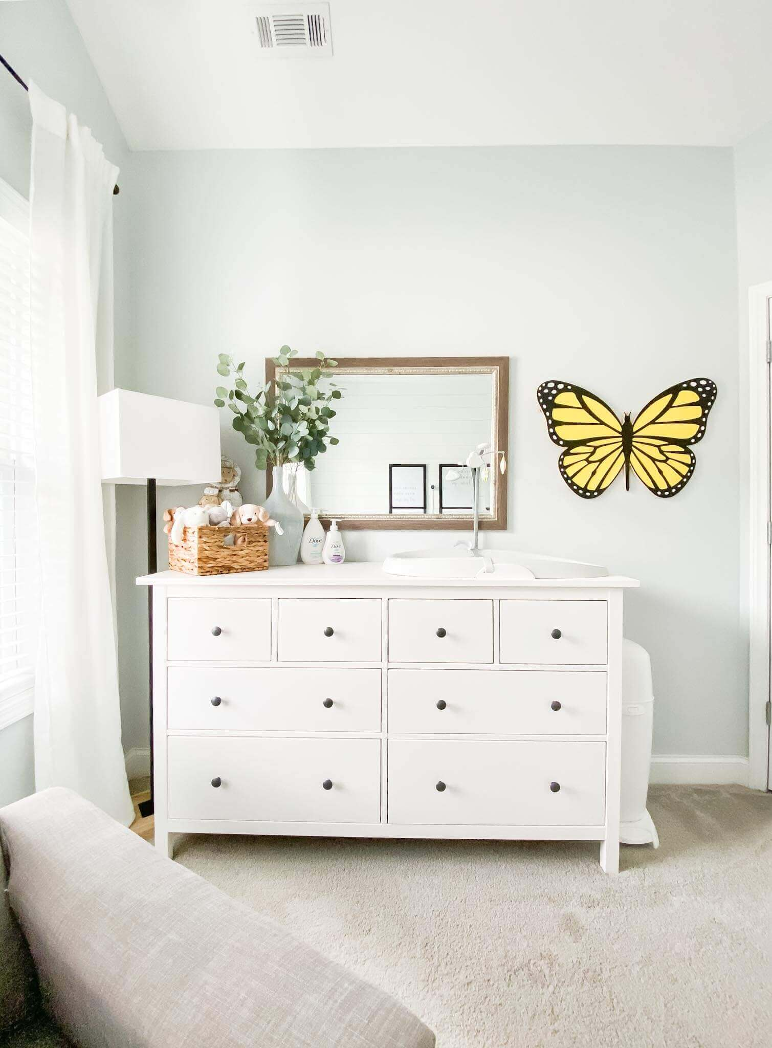 John Robert Nursery Reveal // Baby Boy Nursery // A Hosting Home Blog