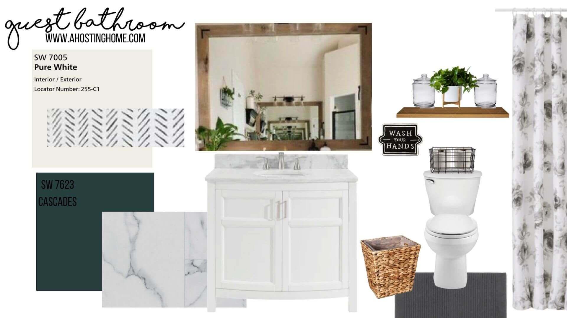 How To Make a Design Board (for free!) / A Hosting Home Blog